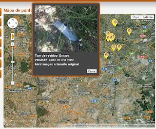 Ver mapa de residuos