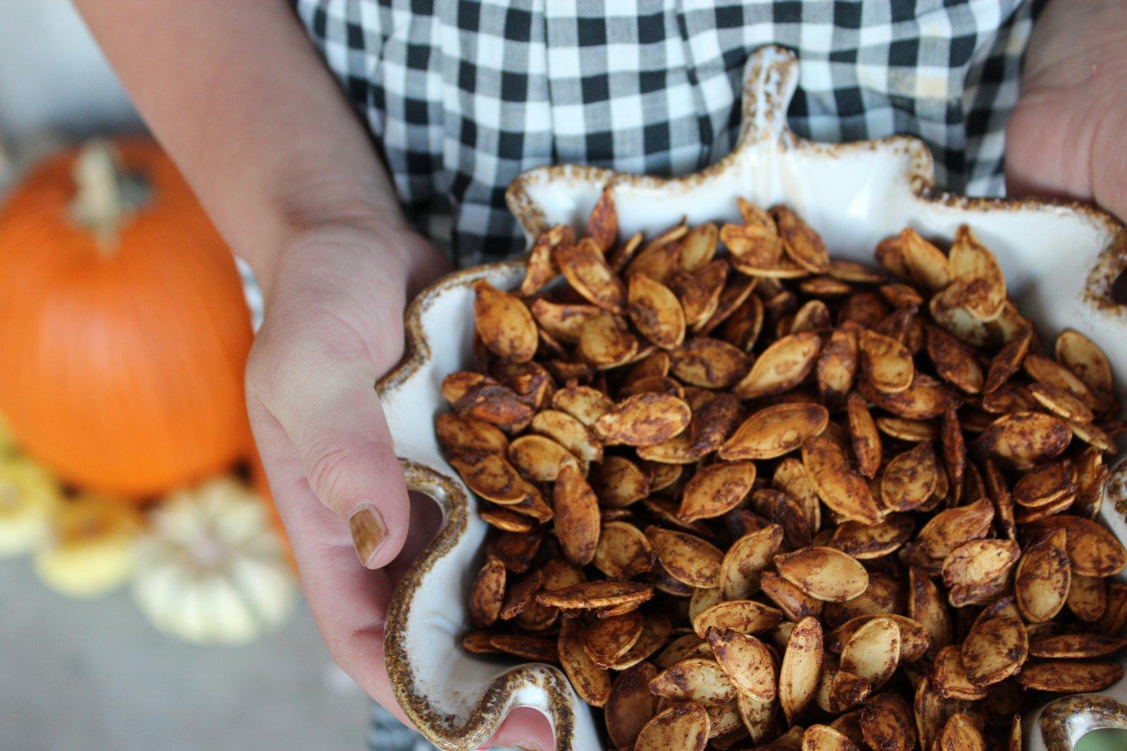 Rita Barton: The BEST Roasted Pumpkin Seeds