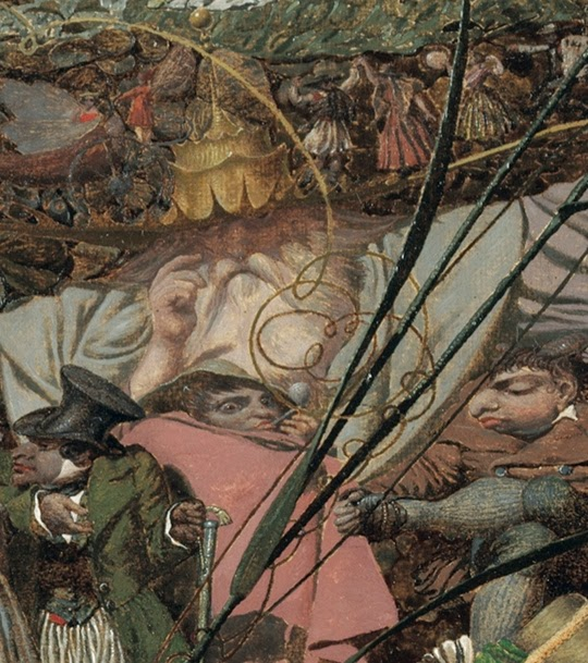 Richard Dadd, El golpe maestro del leñador de las hadas-The Fairy Feller's Master Stroke