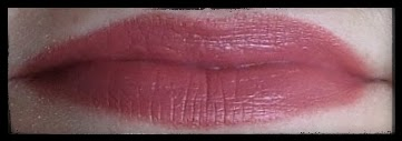 mac craving lipstick lip-pencil swatch on lips review beauty blog