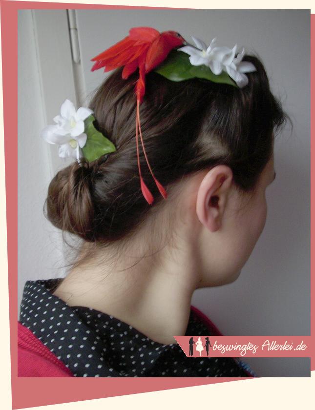 Blüten, Kolibri, extravagant, Haarblüten