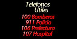 TELEFONOS UTILES