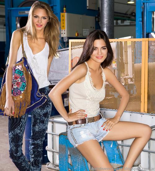 Moda remeras marcas argentinas 2014. Ossira.