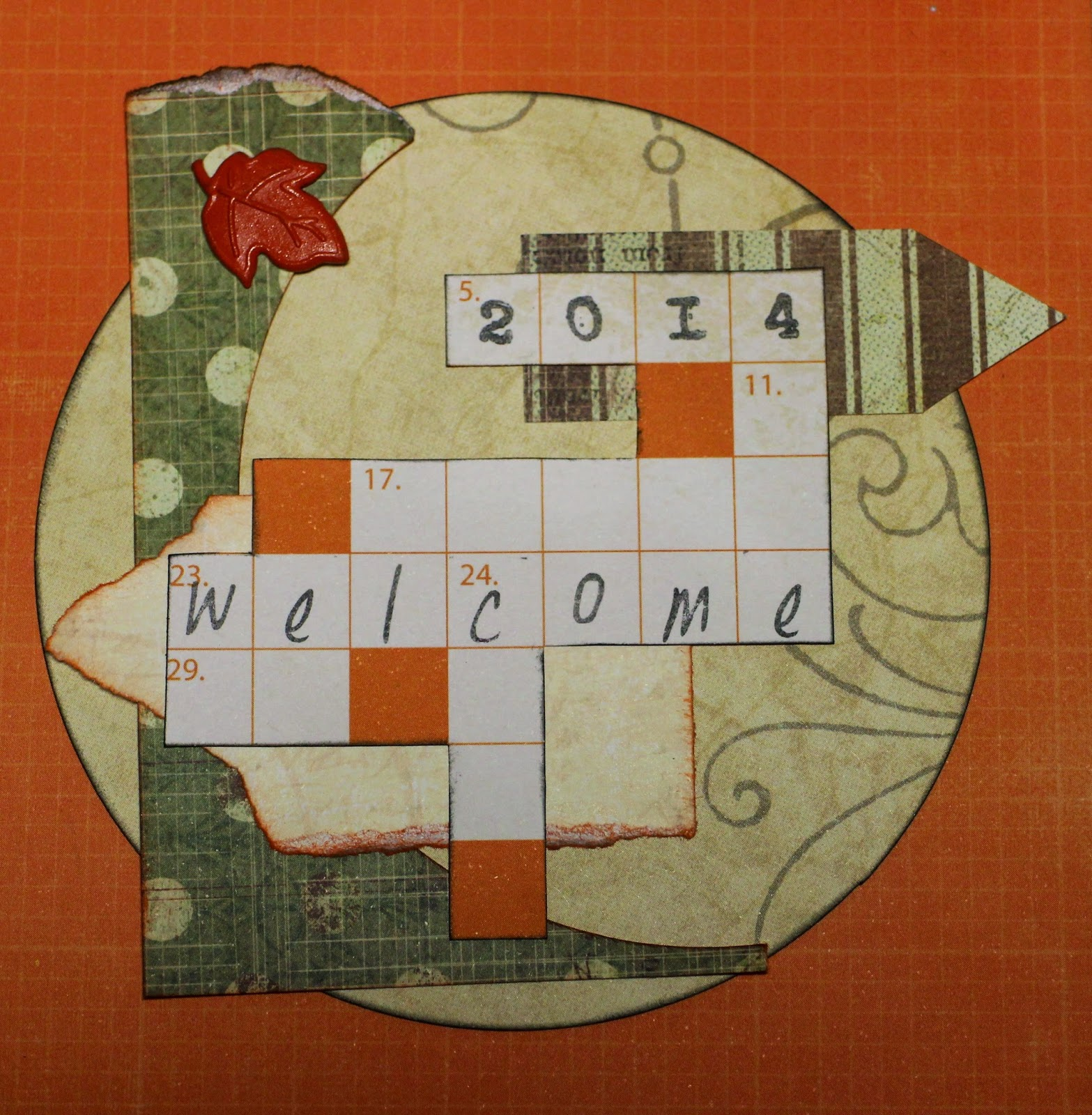 Welcome scrapbooking hamster-sensey