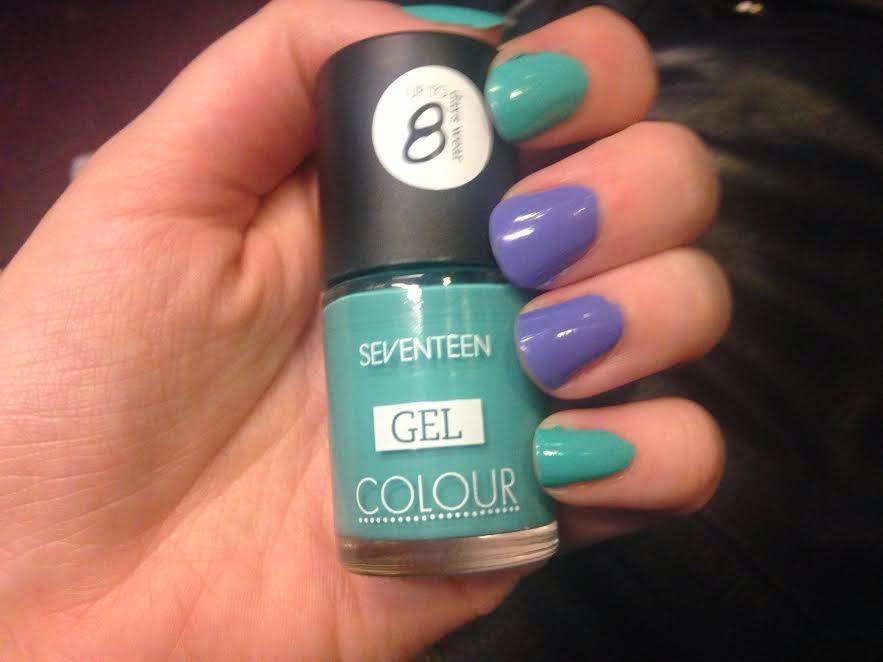 seventeen gel colour  Emerald Tropics