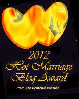 Hot Marriage Blog Award