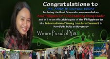Annalie Edday..you made the Blaan tribe proud