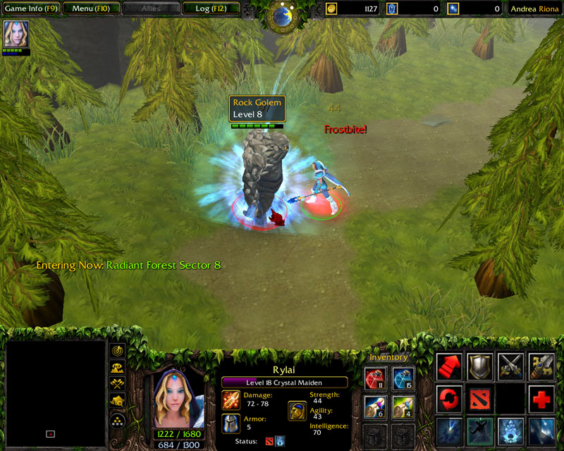andrea s projects development dota 2 open role playing game