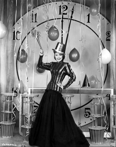 Vintage New Year's Eve #vintage #new #year #1940s #1950s