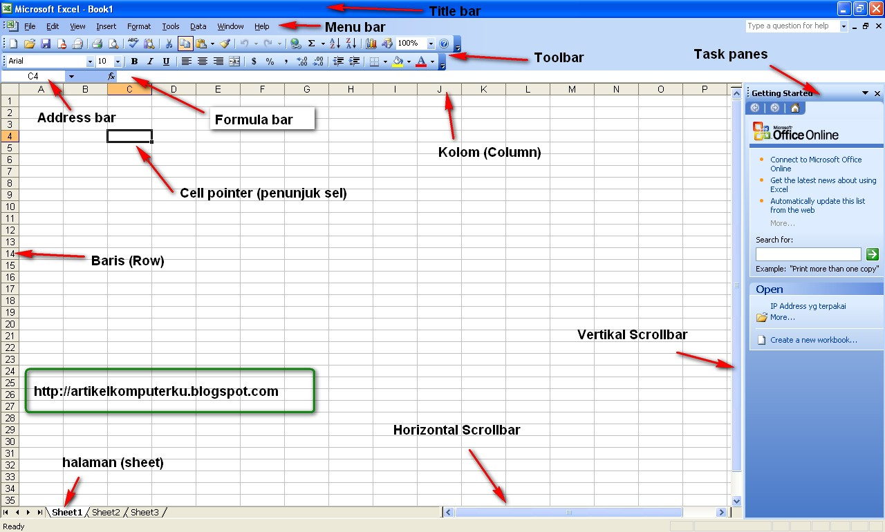 Tutorial Microsoft Excel 2003