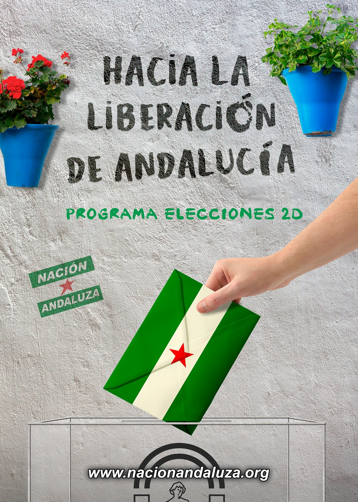Elecciones 2D: programa de Nación Andaluza