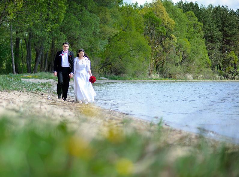 vestuvės prie Vištyčio ežero