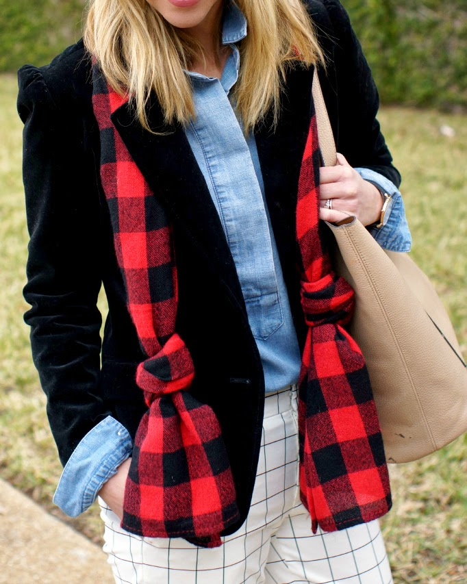 Plaid and Chambray