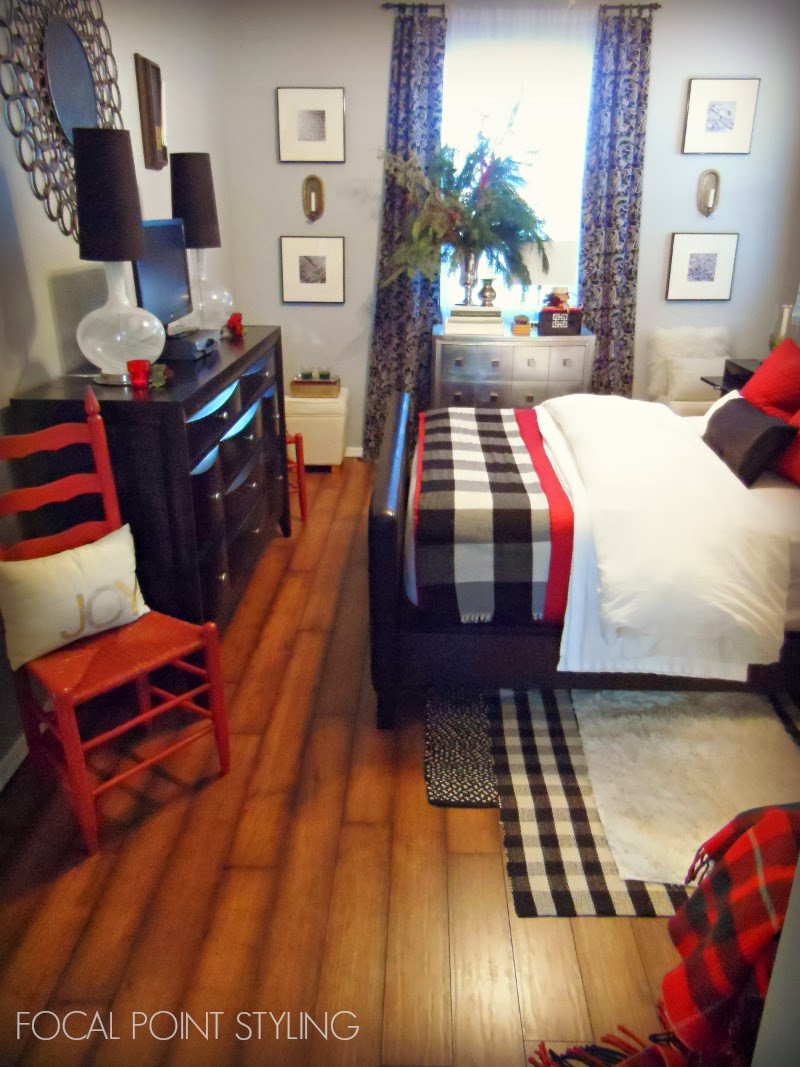 Focal Point Styling Christmas Bedroom With Layers Of Winter Warmth