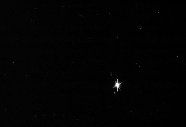 Nasa divulga imagem da Terra tirada a partir de Saturno, a 1,5 bilhão de km