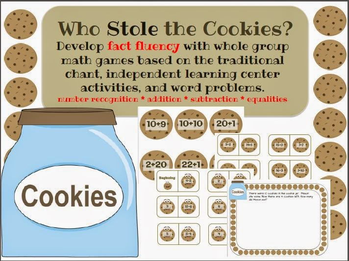 http://www.teacherspayteachers.com/Product/Who-Stole-the-Cookies-Math-1311716