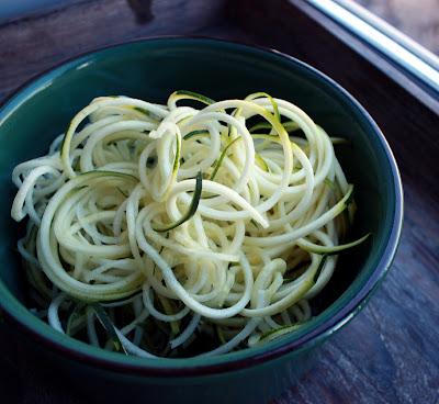 Spiralizer Rawfood Rå Grønnsakspagetti Squashspagetti Squashpasta Glutenfri Pasta Spiralkutter