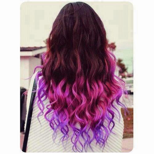 DIY Mechas de colores en el cabello con papel crepe | Belleza Emo