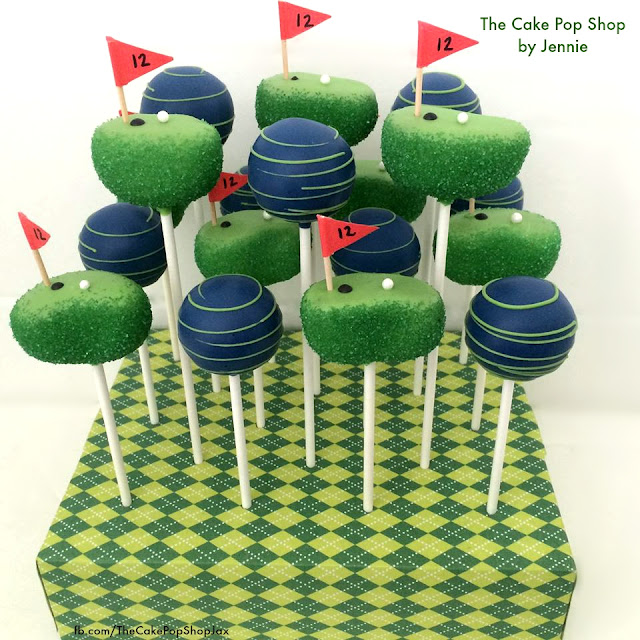 How to make Golf Cake Pops! They are perfect for your little (and big) golf lover in the family! Tutorial and Video on how to make these at home.