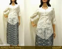 Kumpulan Foto Model Baju Kebaya Putih Lengan 3 4 Trend