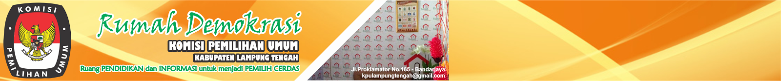 Rumah Demokrasi KPU Lampung Tengah