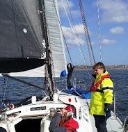 Första seglingen efter vintern