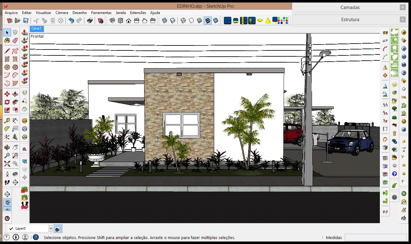 Blender como instalar o addon import sketchup scene for Sketchup import