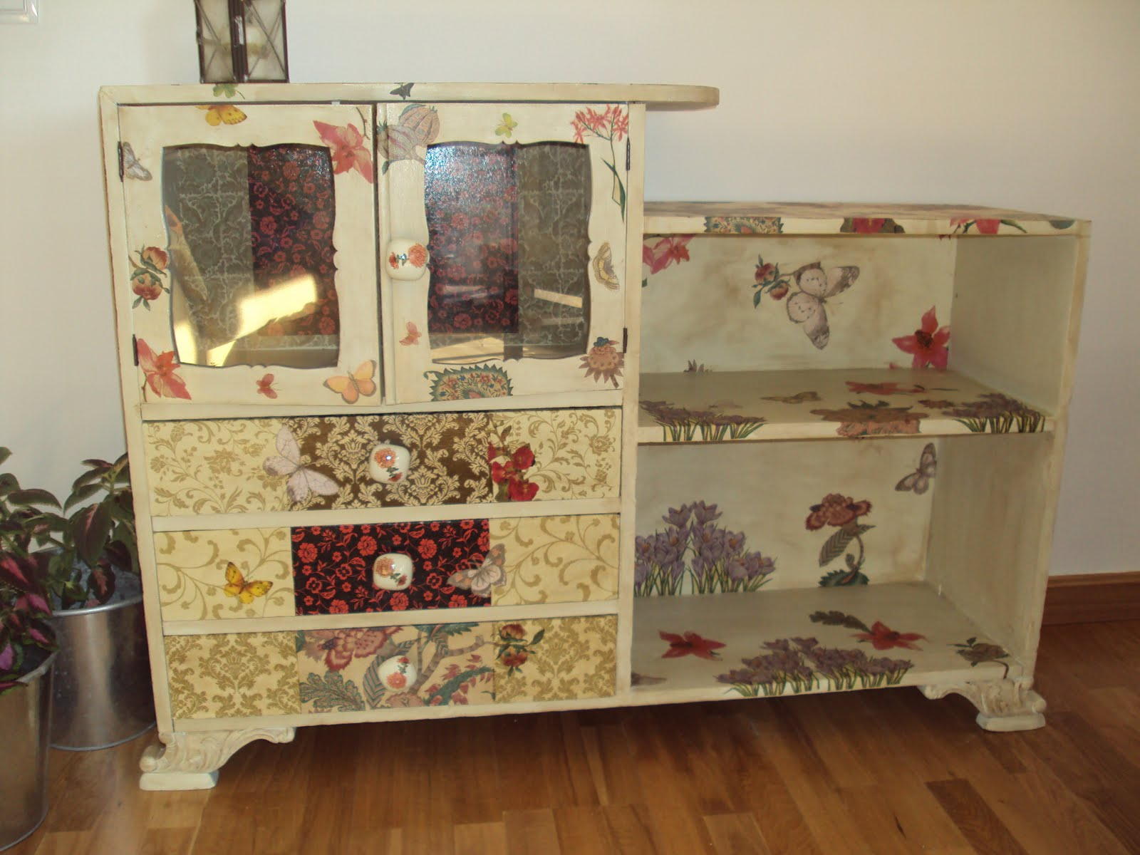 decorocomoloko mueble decoupage