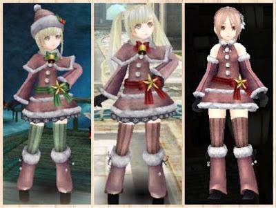 サンタ衣装 桃1