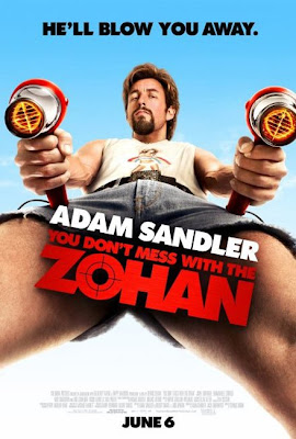 Watch You Don't Mess with the Zohan 2008 BRRip Hollywood Movie Online | You Don't Mess with the Zohan 2008 Hollywood Movie Poster