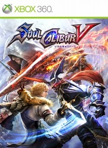 cover xbox360 du jeu soul calibur 5