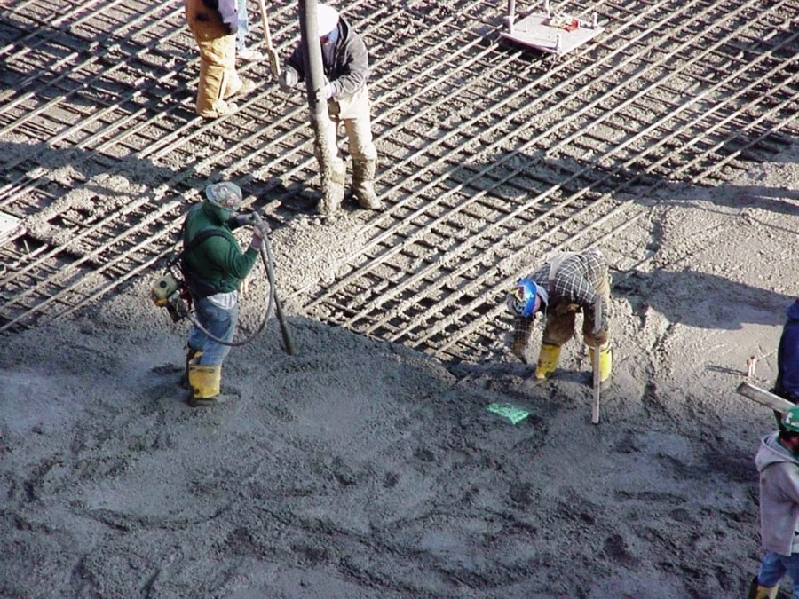 Placing and Curing the Concrete
