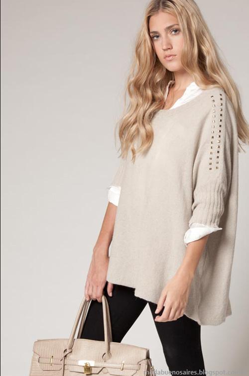 Sweaters moda argentina invierno 2013
