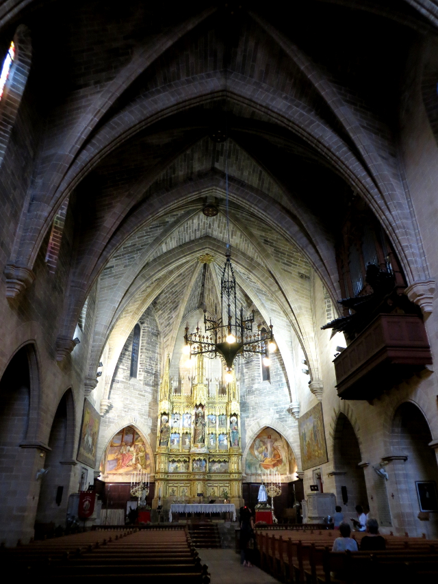 Church old town Alcudia Mallorca kirkko