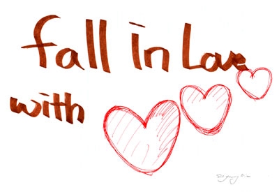 falling-in-love love wallpaper