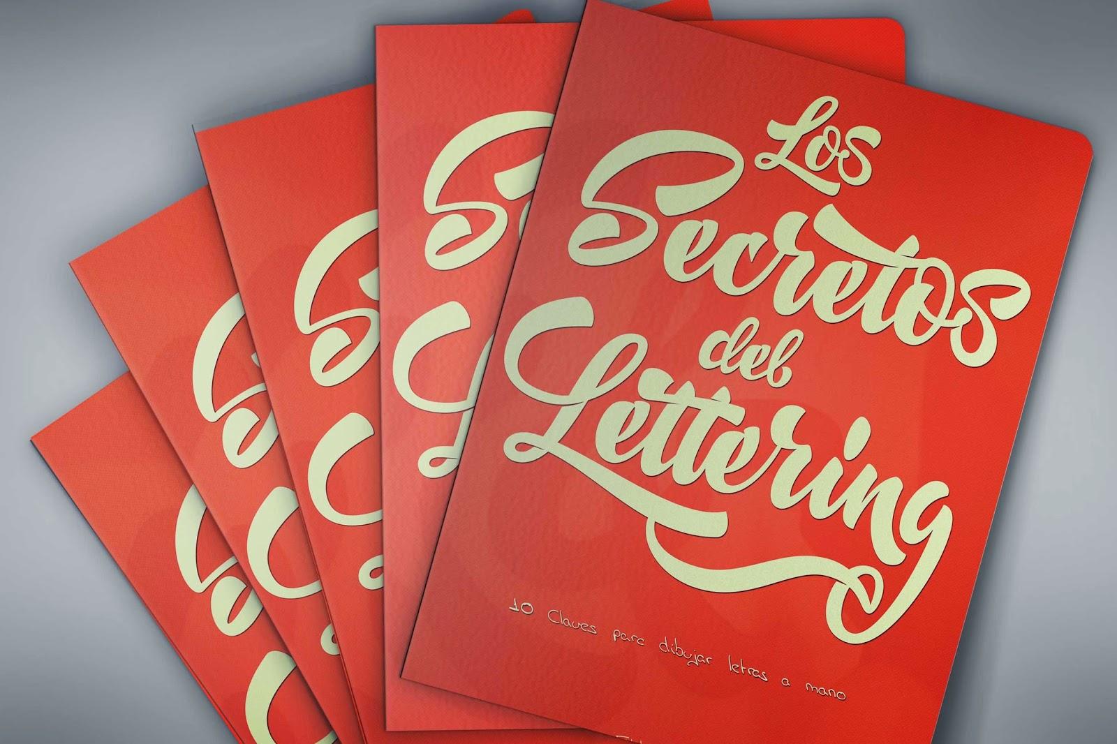 """Libro """"Los Secretos del Lettering: 10 Claves para dibujar letras a mano"""" en EBOOK y PDF"""