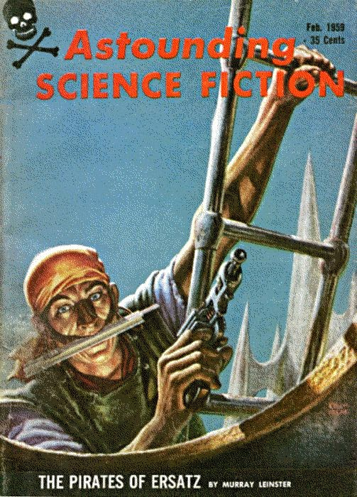 pirates of erstaz cover murray leinster