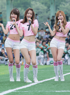 Im Yoona Korean Cute Girl Singer Sexy Photo at Namyangju Central Football Game 13