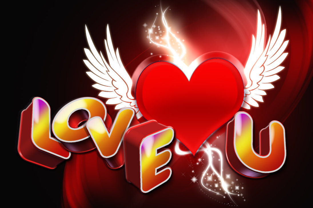 3D I Love You Images HD
