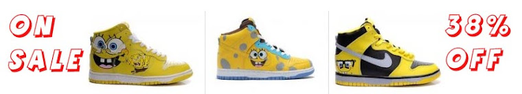 Spongebob nike dunks