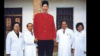 Yao Defen, Wanita tertinggi di dunia
