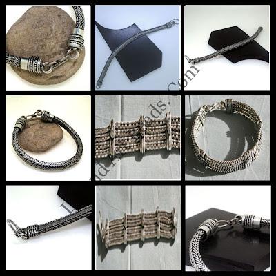 925 Springs Designed Sterling Silver Bracelets