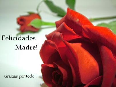 Frases Dia De La Madre: Felicidades Madre Gracias Por Todo
