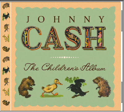 Johnny Cash Children's Album CD Eileen Gano egano redesign