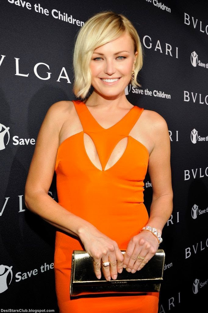 Malin Akerman Looks Gorgeous at BVLGARI And Save The Children Pre-Oscar Event