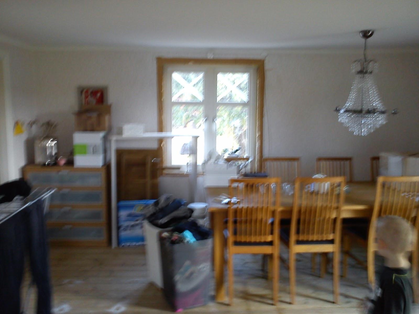 Ankis liv på landet: en liten titt på vardagsrummet...........