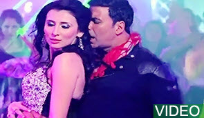 Video : Balma feat. Akshay Kumar, Claudia Ciesla, Asin-  Khiladi 786