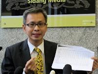 Setiausaha Publisiti DAP Kebangsaan Tony Pua,