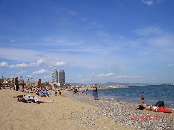 marea la Barcelona