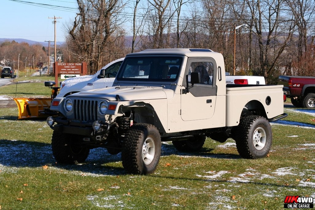 Jeep Wrangler With A Truck Bed Custom Jeeps Trucks And Cars The